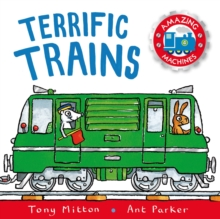 Terrific Trains, Paperback Book
