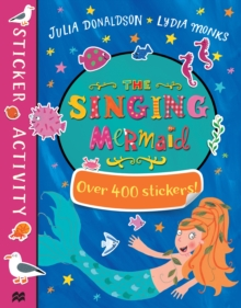 The Singing Mermaid Sticker Book, Paperback Book