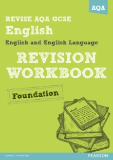 REVISE AQA: GCSE English and English Language Revision Workbook Foundation, Paperback Book