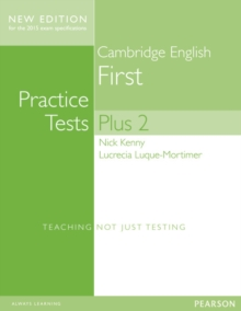 Cambridge First Volume 2 Practice Tests Plus New Edition Students' Book with Key