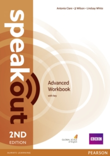 Speakout Advanced 2nd Edition Workbook with Key, Paperback / softback Book