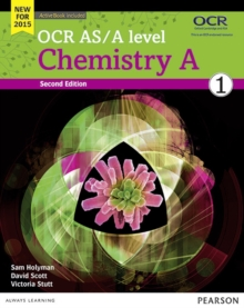 OCR AS/A level Chemistry A Student Book 1 + ActiveBook, Mixed media product Book