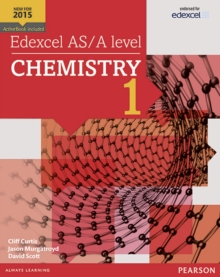 Edexcel AS/A level Chemistry Student Book 1 + ActiveBook, Mixed media product Book