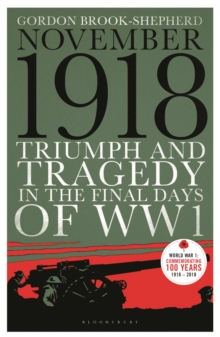 November 1918 : Triumph and Tragedy in the Final Days of WW1, Paperback / softback Book