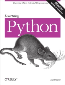 Learning Python : Powerful Object-Oriented Programming, Paperback Book