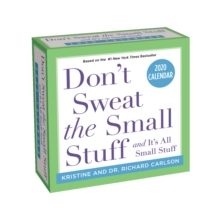 Don'T Sweat the Small Stuff... 2020 Day-to-Day Calendar, Calendar Book