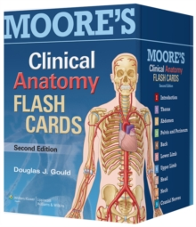 Moore's Clinical Anatomy Flash Cards, Cards Book