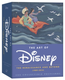 The Art of Disney 2015 Postcard Box : The Renaissance and Beyond (1989-2014), Postcard book or pack Book