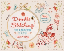 Doodle Stitching Transfer Pack : 300+ Embroidery Patterns, Paperback Book