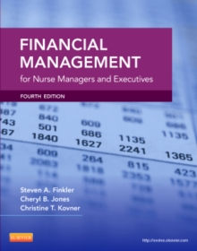 Financial Management for Nurse Managers and Executives, Paperback Book
