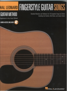 Fingerstyle Guitar Songs : Hal Leonard Guitar Method Supplement, Book Book