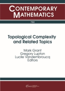 Topological Complexity and Related Topics, Paperback / softback Book