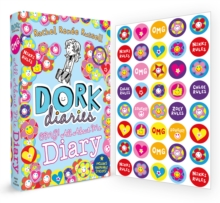 Dork Diaries OMG: All About Me Diary!, Hardback Book