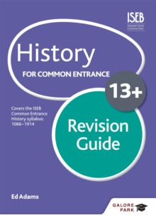 History for Common Entrance 13+ Revision Guide, Paperback Book