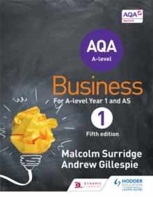 AQA Business for A Level 1 (Surridge & Gillespie), Paperback Book