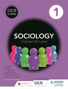 OCR Sociology for A Level Book 1, Paperback Book