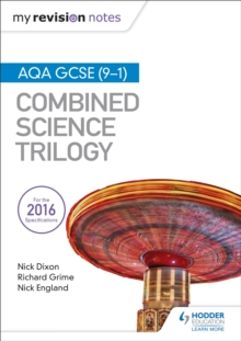 My Revision Notes: AQA GCSE (9-1) Combined Science Trilogy, Paperback / softback Book
