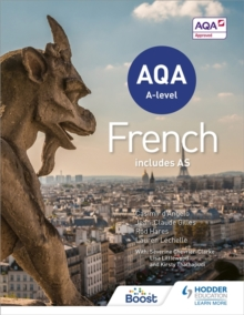 AQA A-Level French (Includes AS), Paperback Book