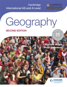 Cambridge International AS and A Level Geography second edition, Paperback Book