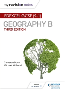 My Revision Notes: Edexcel GCSE (9-1) Geography B Third Edition, Paperback / softback Book