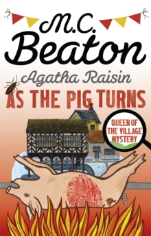 Agatha Raisin: As the Pig Turns, Paperback Book