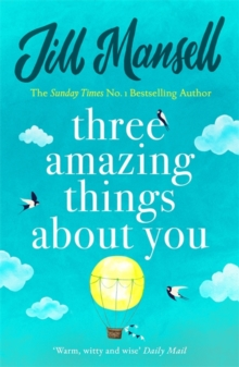 Three Amazing Things About You, Paperback Book