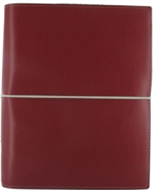 FILOFAX A5 DOMINO RED ORGANISER,  Book