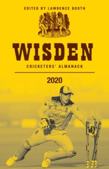 Wisden Cricketers' Almanack 2020, Hardback Book