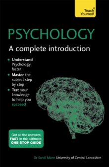 Psychology: A Complete Introduction: Teach Yourself, Paperback Book