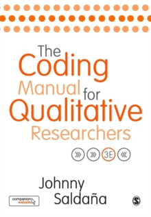 The Coding Manual for Qualitative Researchers, Paperback Book