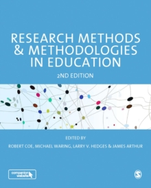 Research Methods and Methodologies in Education, Paperback / softback Book