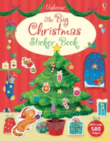 Big Christmas Sticker Book, Paperback Book