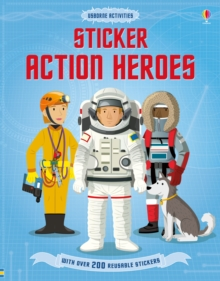 Sticker Dressing Action Heroes, Paperback / softback Book
