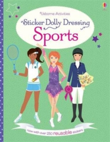 Sticker Dolly Dressing Sports, Paperback Book