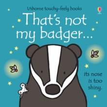 That's Not My Badger, Board book Book