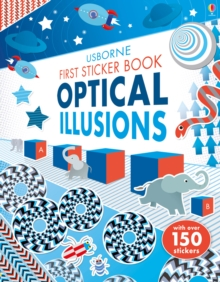 First Sticker Book Optical Illusions, Paperback / softback Book