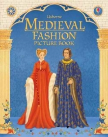 Medieval Fashion Picture Book, Hardback Book