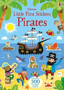 Little First Stickers Pirates, Paperback / softback Book