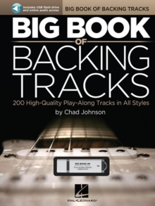 Big Book Of Backing Tracks - 200 High-Quality Play-Along Tracks In All Styles (Book/USB), Paperback / softback Book