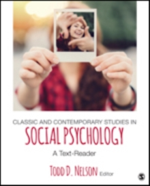 Classic and Contemporary Studies in Social Psychology : A Text-Reader, Paperback / softback Book