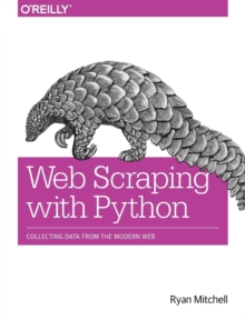 Web Scraping with Python, Paperback Book
