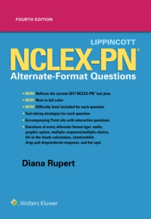 Lippincott NCLEX-PN Alternate-Format Questions, Paperback / softback Book