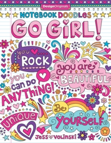 Notebook Doodles Go Girl!, Paperback / softback Book