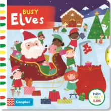 Busy Elves, Board book Book