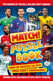 Match! Football Puzzles, Paperback / softback Book