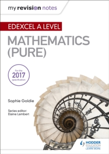 My Revision Notes: Edexcel A Level Maths (Pure), Paperback / softback Book
