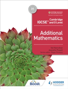 Cambridge IGCSE and O Level Additional Mathematics, Paperback / softback Book
