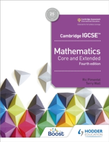 Cambridge IGCSE Mathematics Core and Extended 4th edition, Paperback / softback Book