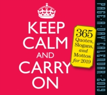 2019 Keep Calm and Carry on Page-A-Day Calendar, Calendar Book