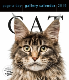 2019 Cat Gallery Page-A-Day Gallery Calendar, Calendar Book